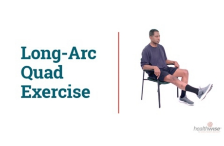 How to Do the Long-Arc Quad Exercise