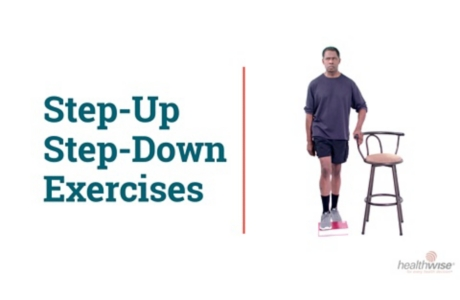 How to Do Step-Up and Step-Down Exercises