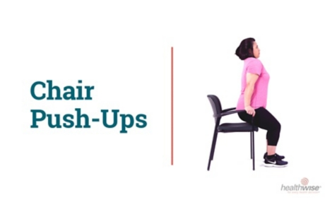 How to Do Chair Push-Ups