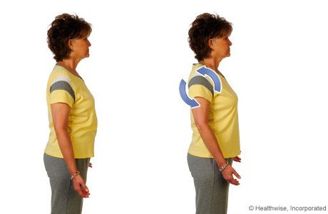 How to do the shoulder-roll exercise