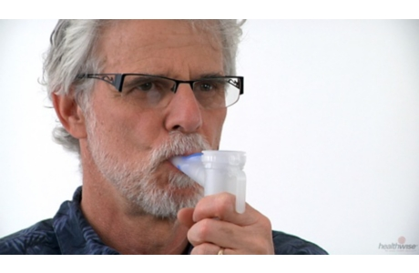 COPD: How to Use a Nebulizer
