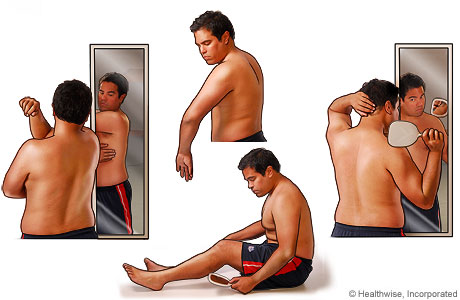 Methods of skin self-examination