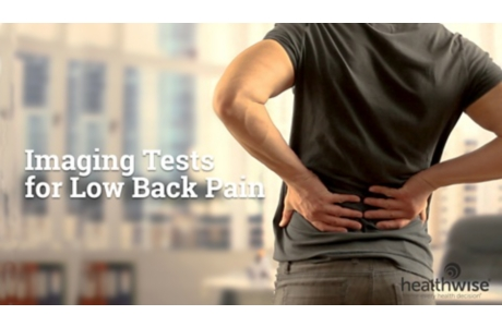 Tests for Low Back Pain